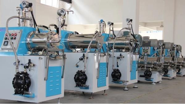 砂磨机发展历史五阶段