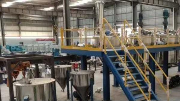 悬浮剂卧式砂磨机的生产应用