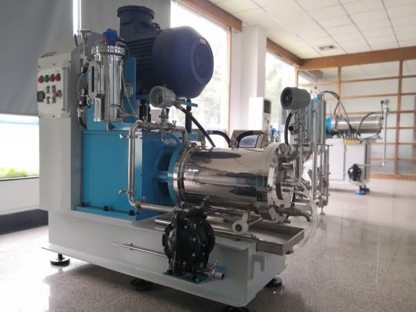 现代水性油墨砂磨机的应用