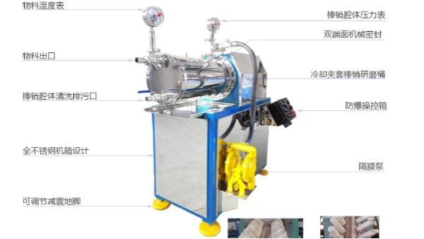 砂磨机冷却系统控制温度