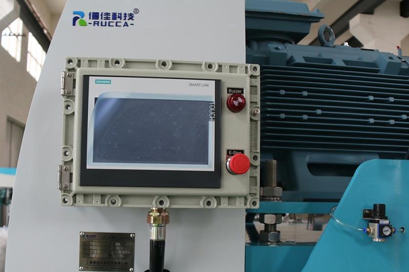 砂磨机控制面板