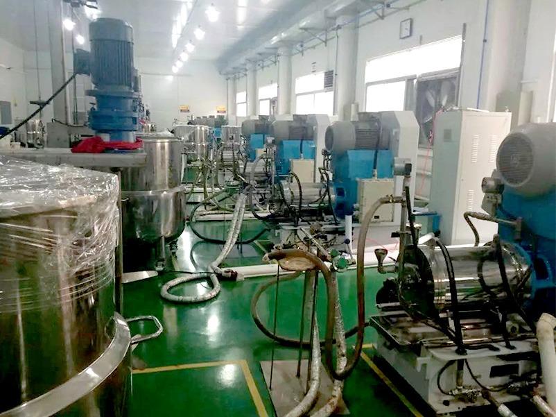 砂磨机香精香料行业解决方案