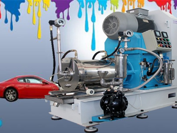 汽车的漆料需要纳米砂磨机