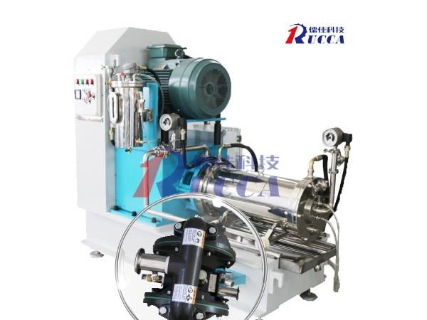 染料研磨分散砂磨机设备应用