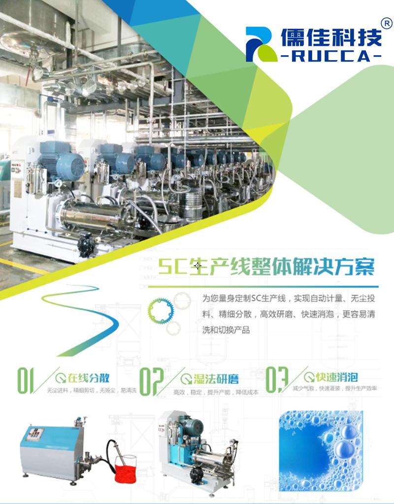 农药SC生产线解决方案